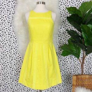 J. Crew Yellow Dress